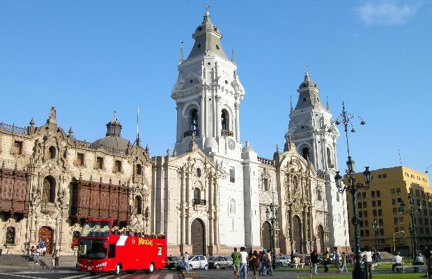 Lima, la cathédrale