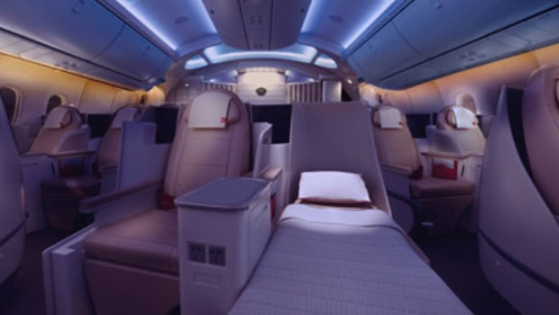 "La classe ""Crown"" de la Royal Jordanian Airlines"