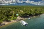 L'Atmosphere Resort & Spa dans l'archipel des Visayas, spot réputé de plongée aux Philippines, non loin d'Apo.