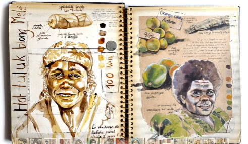 Carnet de voyage de Stéphanie Ledoux en Colombie