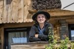 Le Chef Marc Veyrat  dans sa nouvelle Maison des Bois au col de la Croix-Fry, massif des Aravis en Savoie.